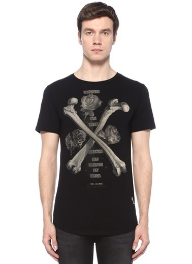 Religion Tişört Siyah